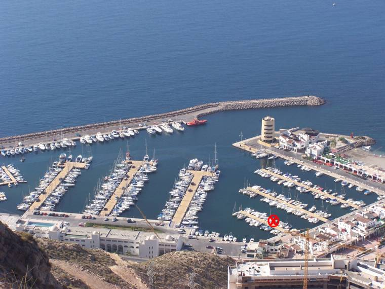 Mooring for Sale in Pto Dptivo Aguadulce of Almería - 8x3m