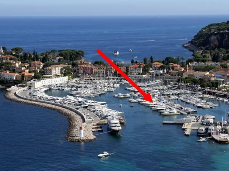 Mooring for sale in port de saint jean cap ferrat of alpes maritimes 15x4 7m 48567 inautia - Port saint jean cap ferrat ...