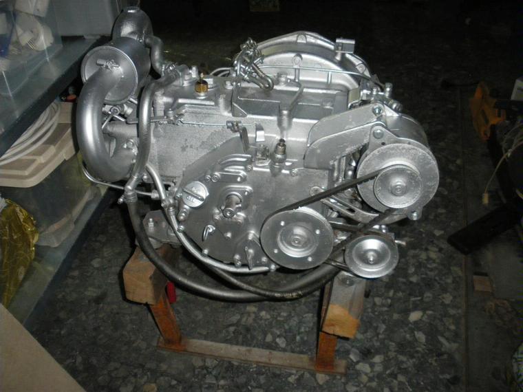 Motor Yanmar Ysm 12 Diesel Second-hand 66666
