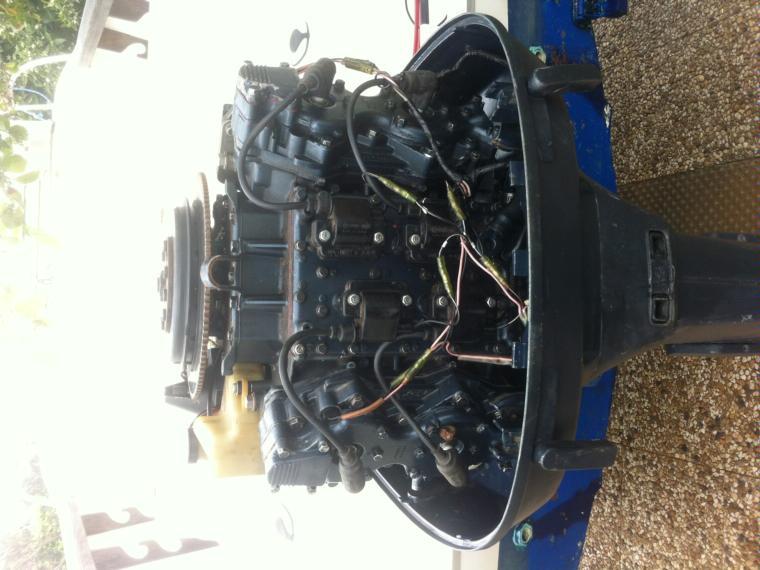 motor yamaha 115 cv v4 2 tiempos second-hand 66566