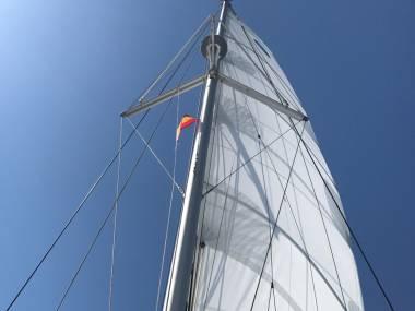 GV à corne pour LAGOON 42 Sails/awnings