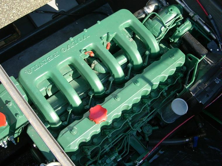 motor volvo penta aqad40a 155cv  second-hand 55556