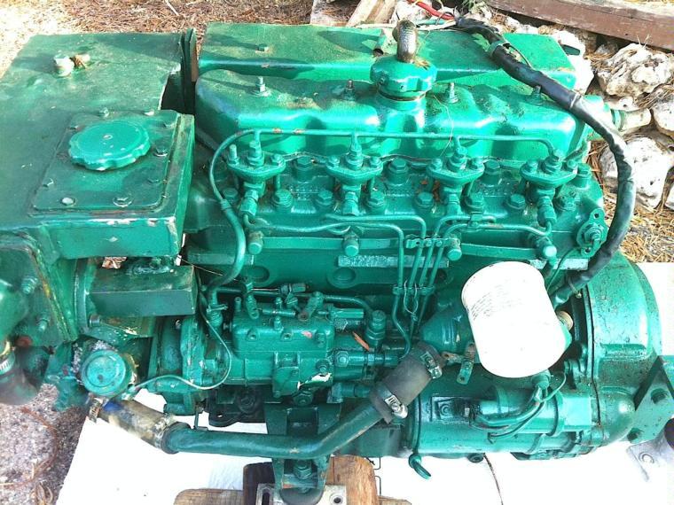 motor volvo penta md 21a 75cv second-hand 69505