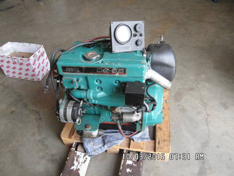 Used Sailboats For Sale >> motor volvo penta d2 55 hp second-hand 53666 - iNautia