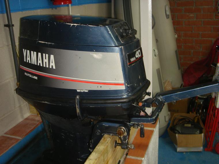 Motor Fueraborda Yamaha 40 Hp 2t Second Hand 66515 Inautia