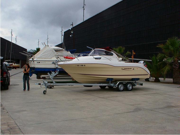 quicksilver 620 cruiser 115 cv   remolque nuevo  motor