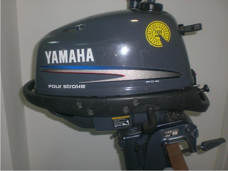 Motor Yamaha 4hp 4t Second Hand 52486 Inautia