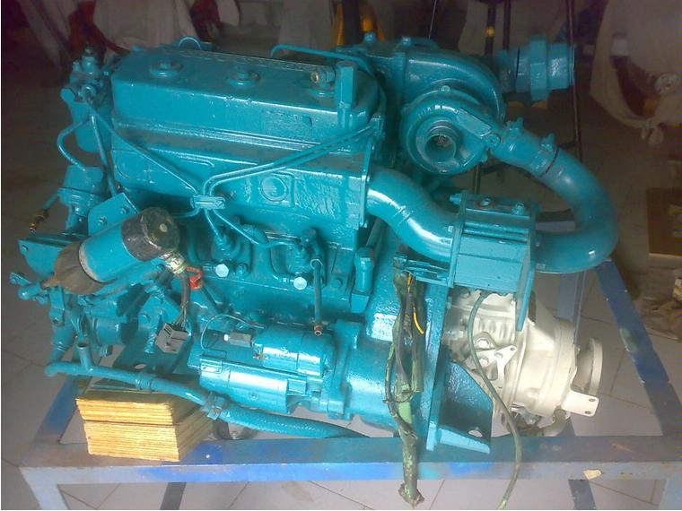 volvo penta 2003t inboard engine second-hand 66564