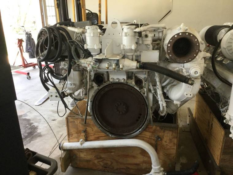 Man V10 D2842 LE 423 Marine Diesel Engine Common Rail 1100 HP second