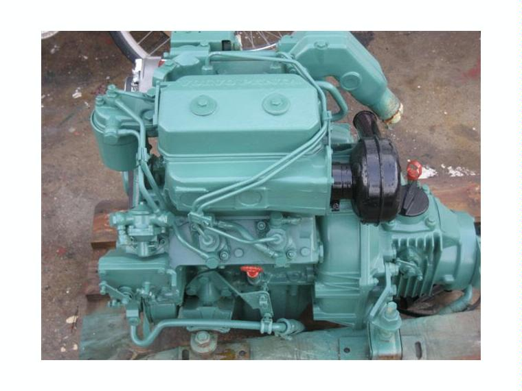 moteur volvo penta inbord mod 2002 18cv occassion second