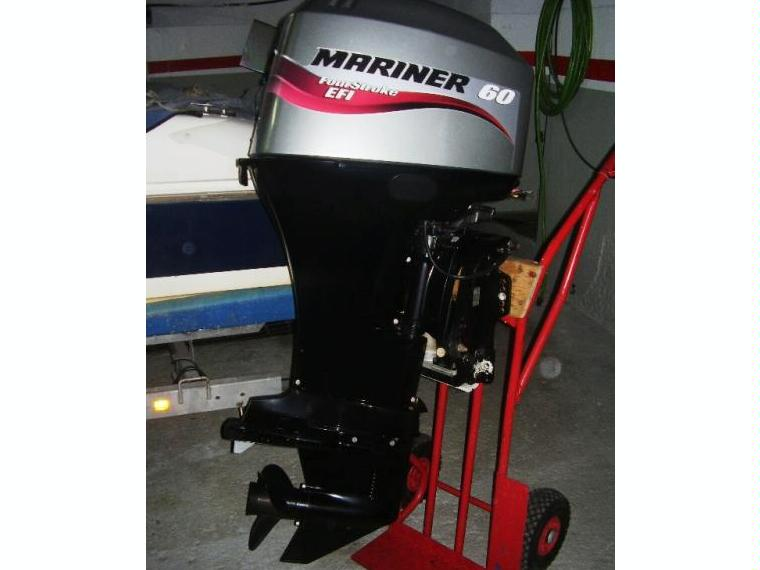 Motor Mariner 60 Hp 4 Tempos Como Novo Second Hand 70485