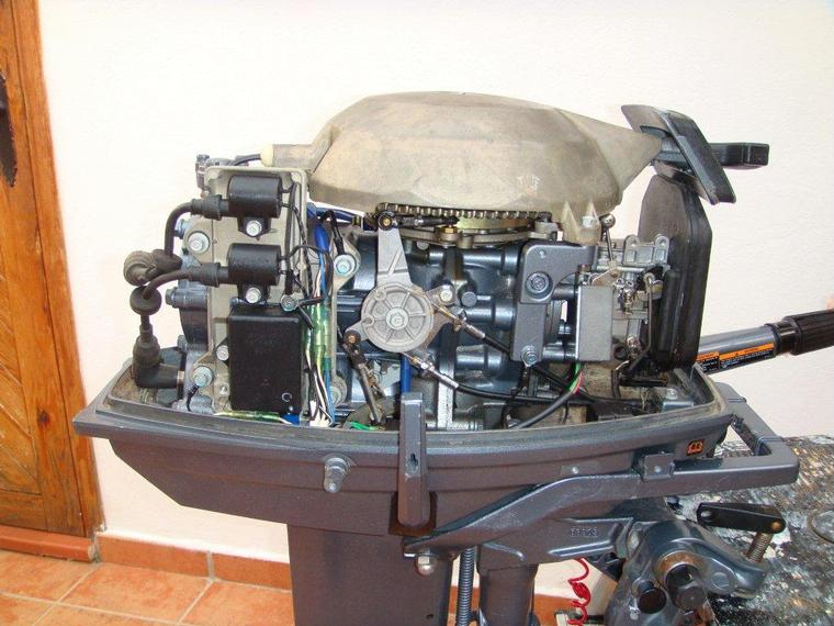 motor yamaha 25 cv 2t second-hand 70705