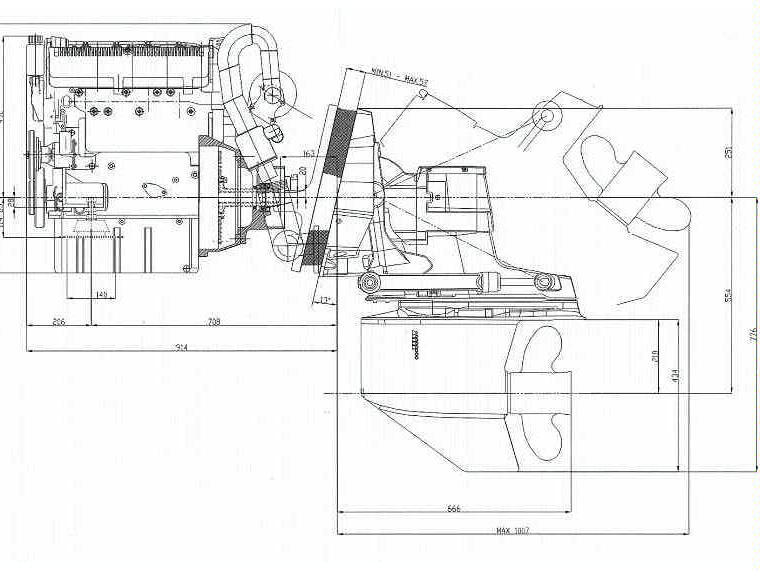 motor diesel lombardini kohler ldw 194 jmt  180 cv    cola