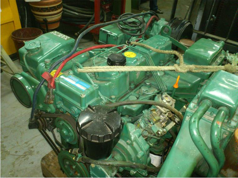Moto volvo penta ad31b turbo intercoler second hand 56486 for Volvo motors for sale