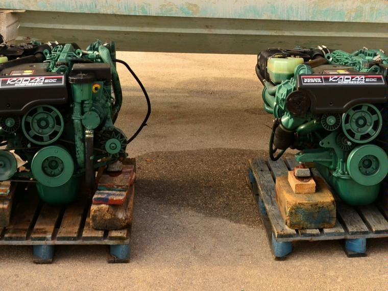 motores volvo penta kad 44 260 cv second-hand 48666