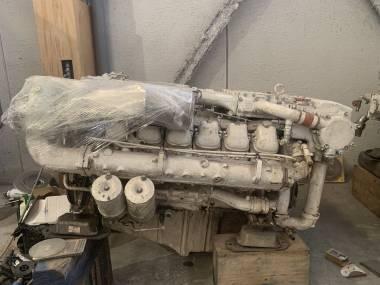 Motores Man y reductoras Engines