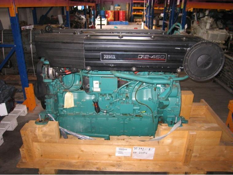 Marine Engine Volvo D12 Mh 550 Hp Second-hand 55697