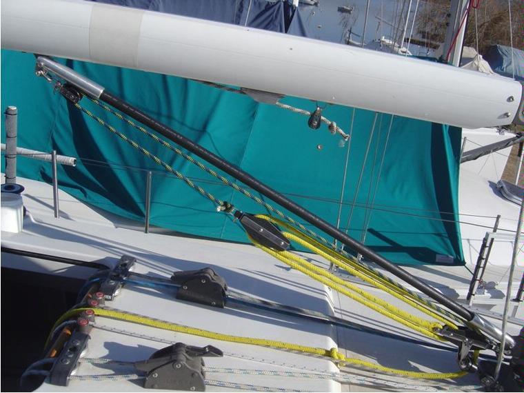 Vang flexible a varilla de fibra de vidrio deck - Varillas fibra de vidrio ...
