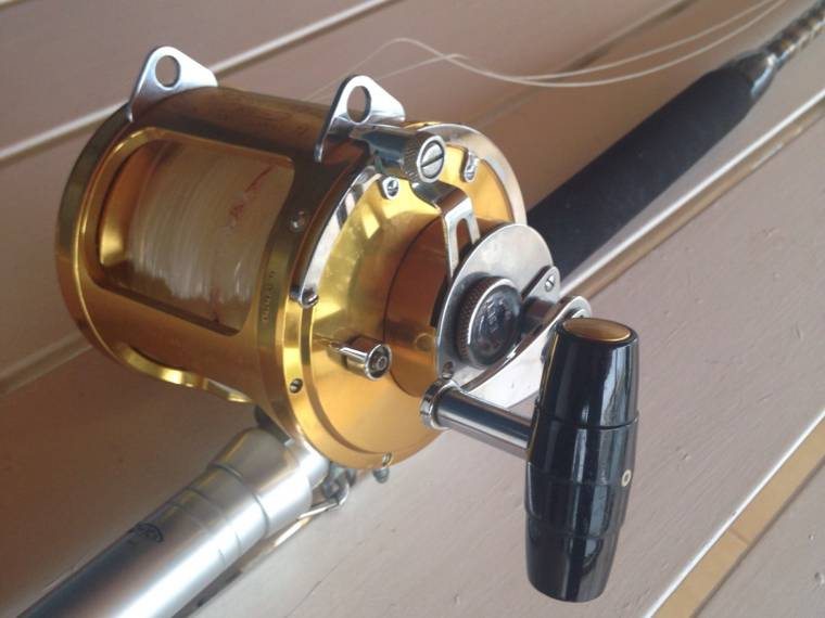 carrete y caña PENN REELS INTERNATIONAL II de 80 lb STW second-hand