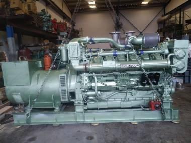 MOTOR MARINO AUXILAR GUASCOR F360 750 KVA Engines