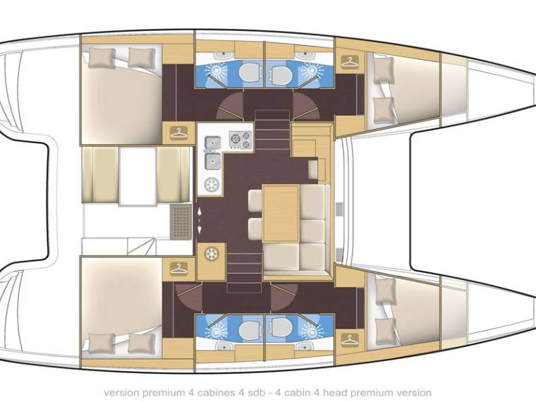 Rent LAGOON 39 MG   Catamaran sailboat 48495 - iNautia