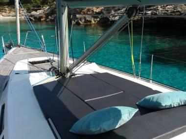 HANSE 430 con Patrón en Ibiza