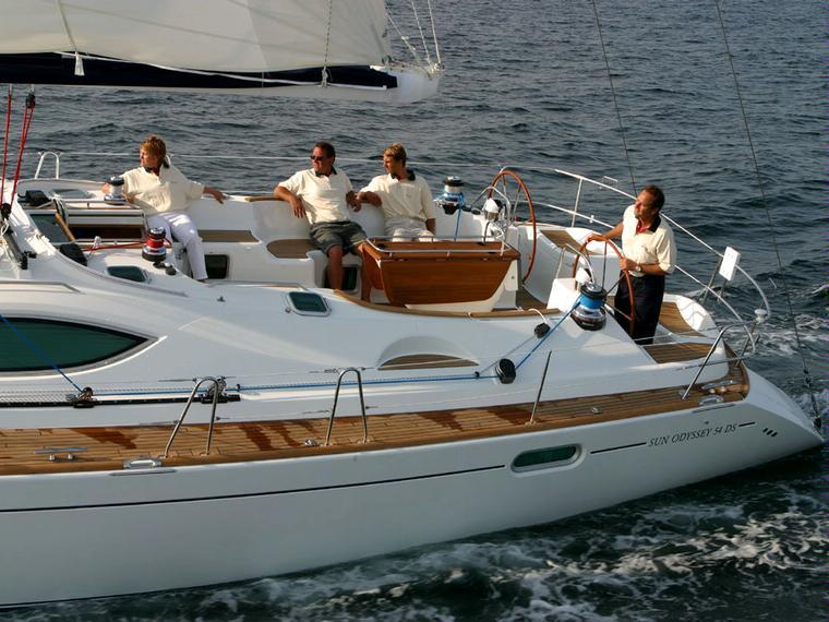 Rent Jeanneau Sun Odyssey 54ds Sailboat 68676 Inautia