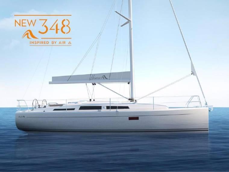 Hanse 348 Sailing cruiser