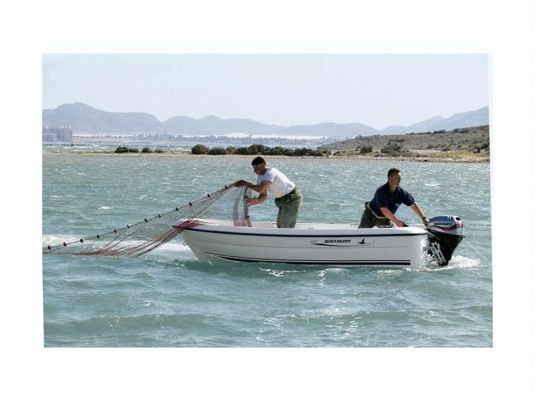 Quicksilver Captur 410 Fish Day fishing boat