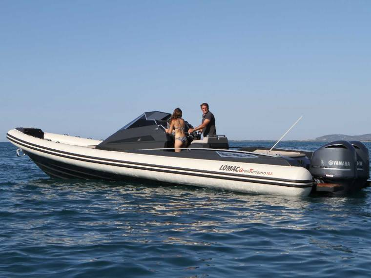 Lomac GranTurismo 10.5 Rigid inflatable boat