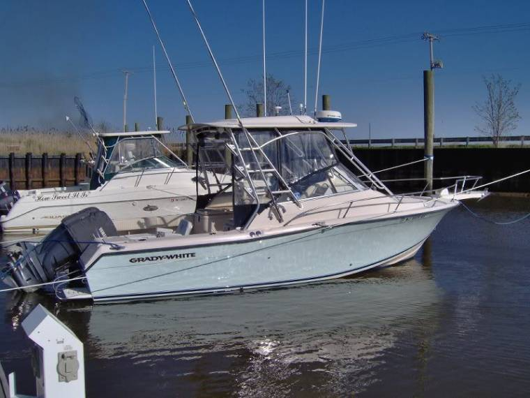 Boat grady white 265 express inautia for Grady white fishing boats
