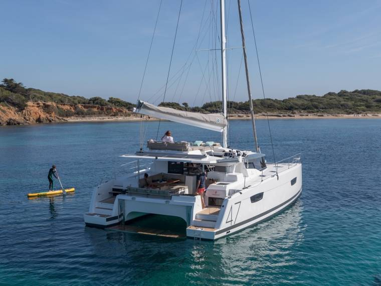 Fountaine Pajot Saona 47 Catamaran sailboat