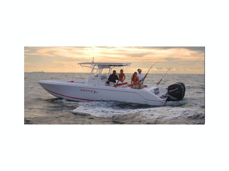 Boat donzi 35 zf inautia for Donzi fishing boats