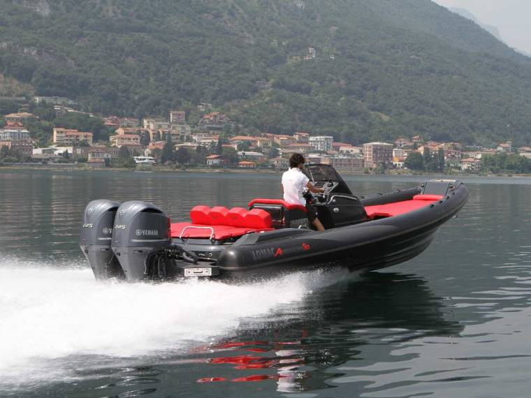 Lomac Adrenalina 9.0 FB Rigid inflatable boat