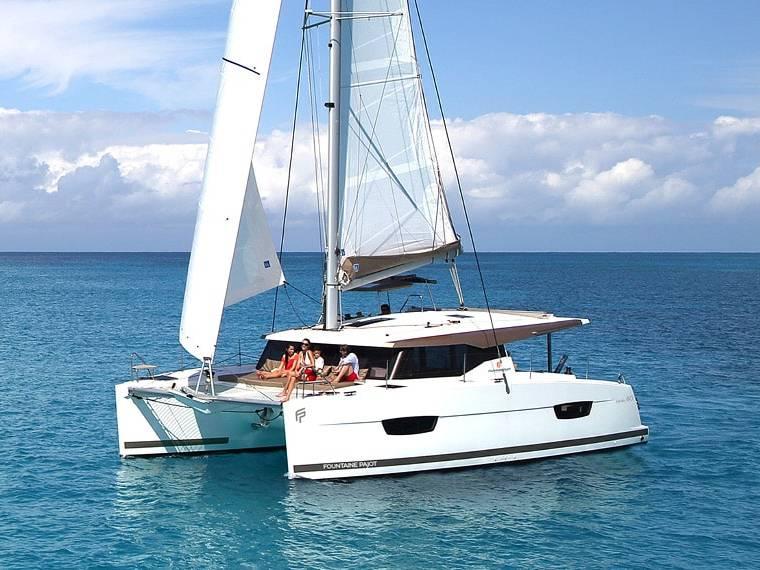 Fountaine Pajot Lucia 40 Catamaran sailboat