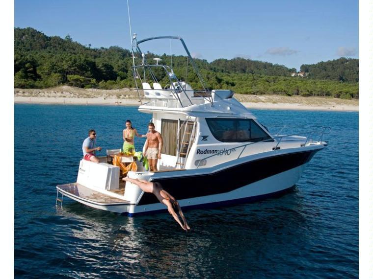 Rodman 1040 Fisher&Cruiser Day fishing boat