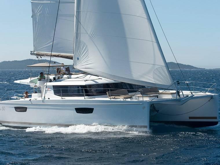 Fountaine Pajot Saba 50 Catamaran sailboat
