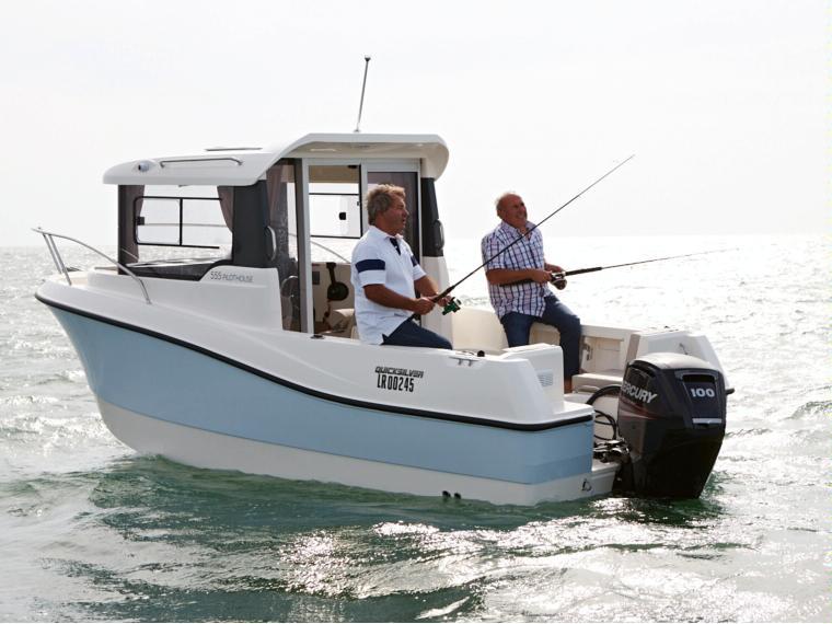 Quicksilver Captur 555 Pilothouse Fishing boat