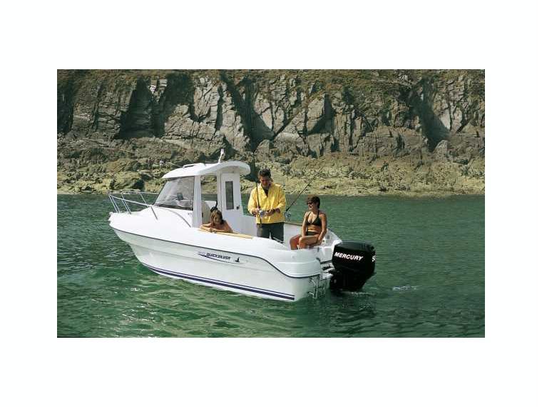 Quicksilver Captur 500 Pilothouse Day fishing boat