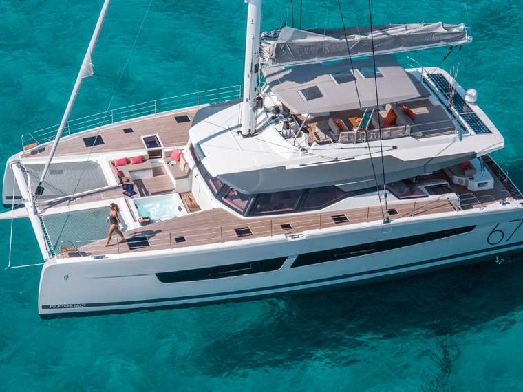 Fountaine Pajot Alegria 67 Catamaran sailboat