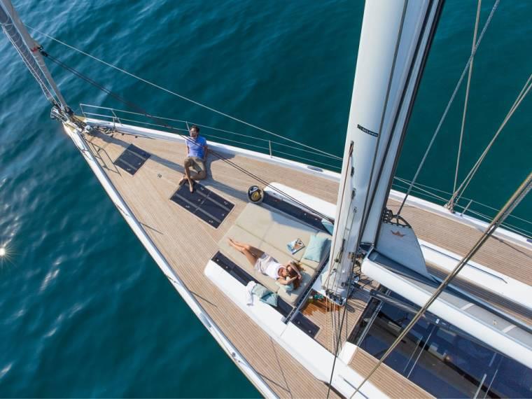 Hanse 675 Sail yacht