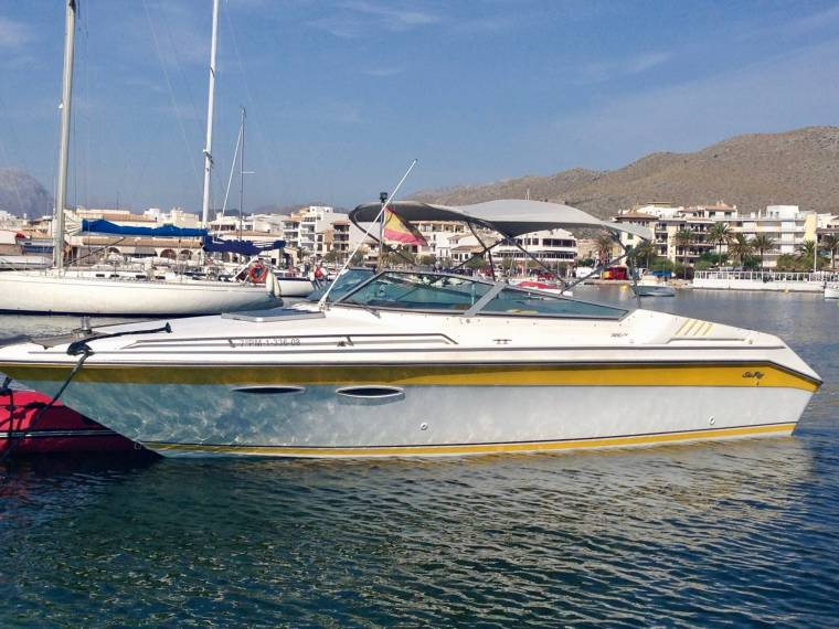 Sea Ray 260 Overnighter in Majorca | Speedboats used 52505