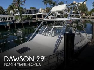 Dawson 29 Canyon Sports Fisherman