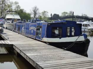 Wide Beam Narrowboat Wide beam barge