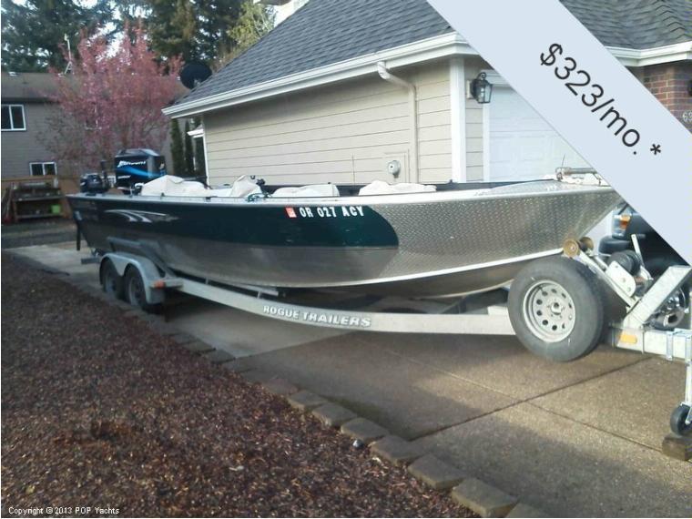 Alumaweld 25 Pro Super Vee In Oregon Power Boats Used