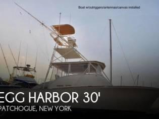 Egg Harbor 30 Custom open Sportfish