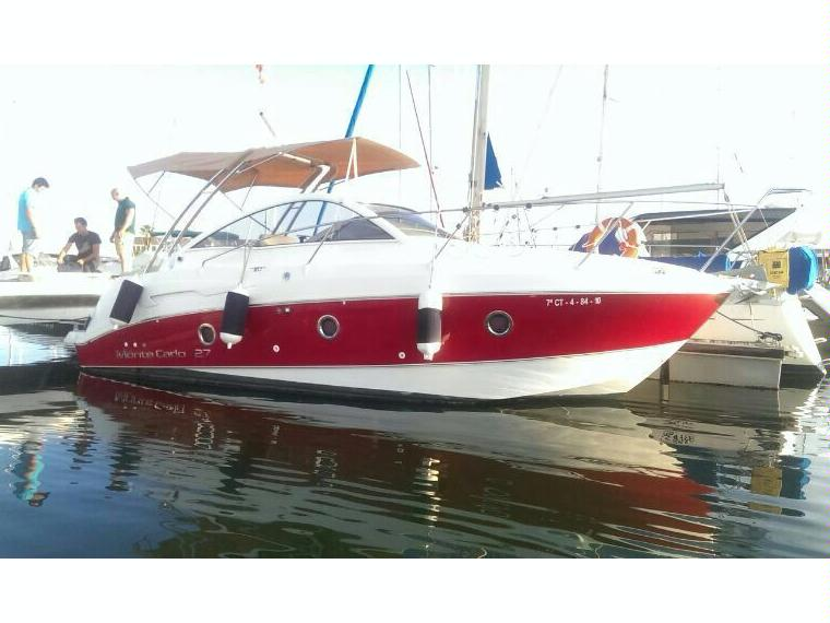 beneteau monte carlo 27 in murcia speedboats used 65656 inautia. Black Bedroom Furniture Sets. Home Design Ideas