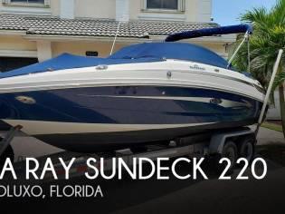 Sea Ray Sundeck 220