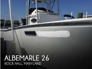 Albemarle 262 Center Console