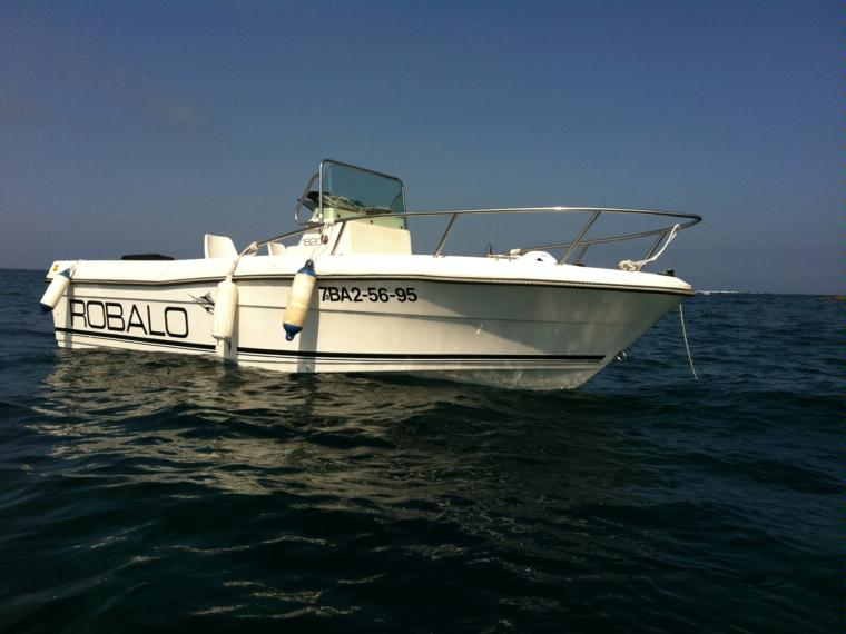 Robalo 1820 in port marina palam s power boats used for Robalo fish in english